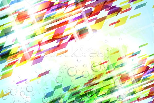 抽象的な カラフル 実例 要素 ソフト ストックフォト © CarpathianPrince