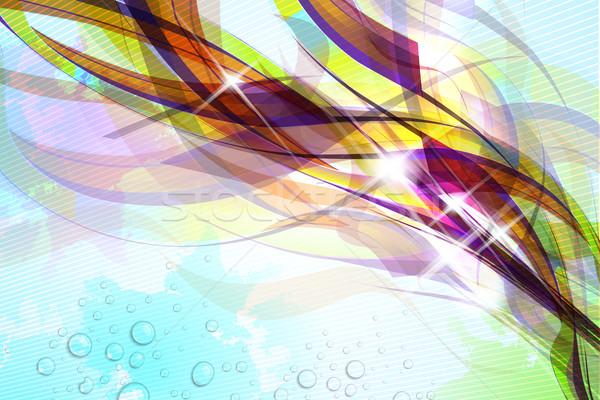 抽象的な カラフル ソフト 光 ストックフォト © CarpathianPrince