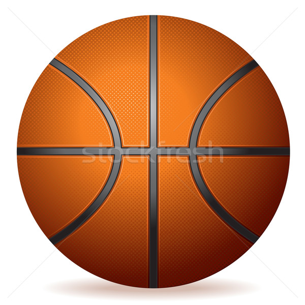 Realistic Basketball Stock photo © CarpathianPrince