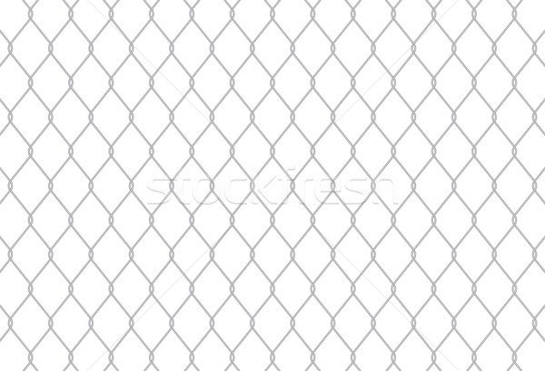 チェーン リンク フェンス することができます タイル張りの ストックフォト © CarpathianPrince