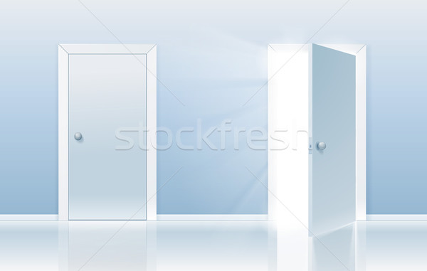 Door of opportunity Stock photo © CarpathianPrince