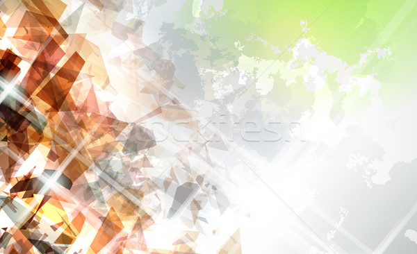 Abstract Shattered Background Stock photo © CarpathianPrince