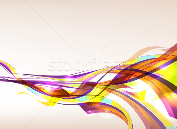 Abstract Colorful Background Flow Stock photo © CarpathianPrince