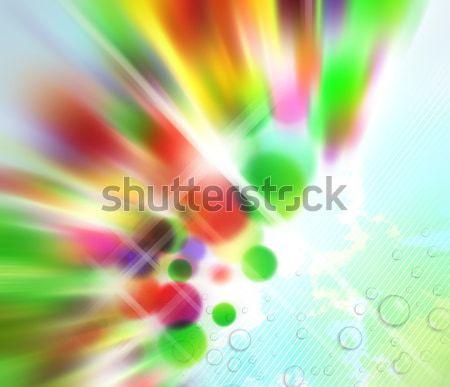 抽象的な カラフル ぼやけた 色 ソフト ぬれた ストックフォト © CarpathianPrince