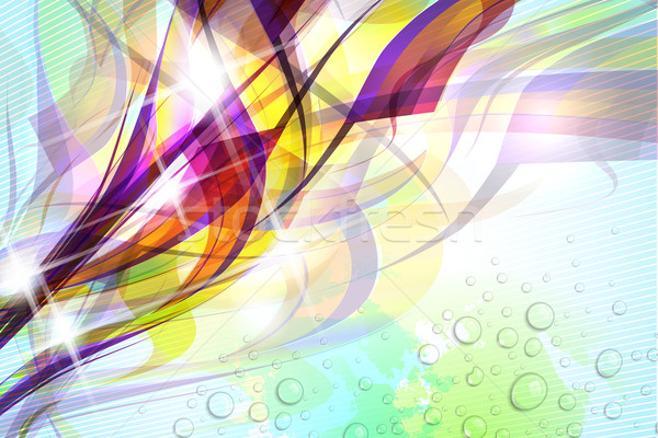 Stock photo: Abstract Colorful Background