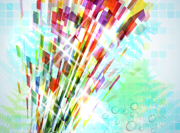 Abstract illustrazione elementi soft luce Foto d'archivio © CarpathianPrince