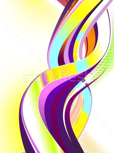 抽象的な カラフル 渦 中古 勾配 ストックフォト © CarpathianPrince