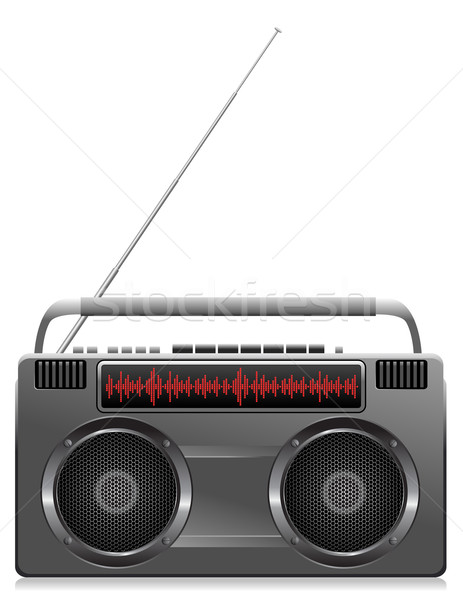 Stock photo: Digital Stereo