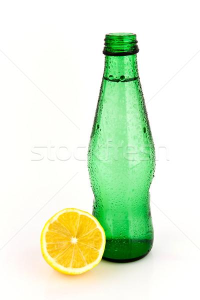 Limon meyve suyu taze yalıtılmış su gıda Stok fotoğraf © Carpeira10