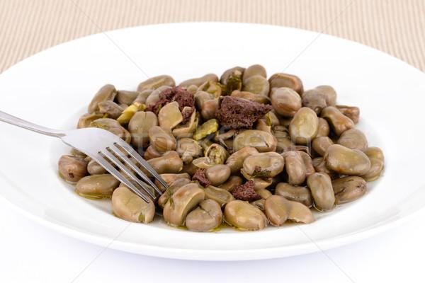 Portuguese broad beans. Stock photo © Carpeira10