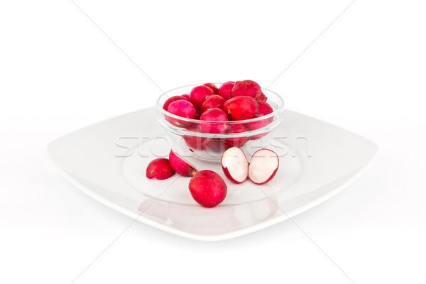 Turp beyaz sağlıklı sebze meyve arka plan Stok fotoğraf © Carpeira10