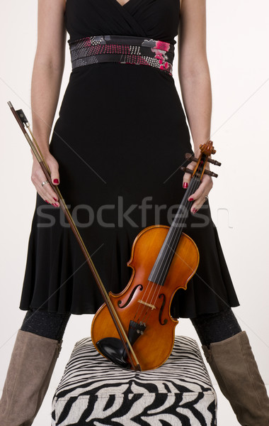 Torso with Instrument Stock photo © cboswell