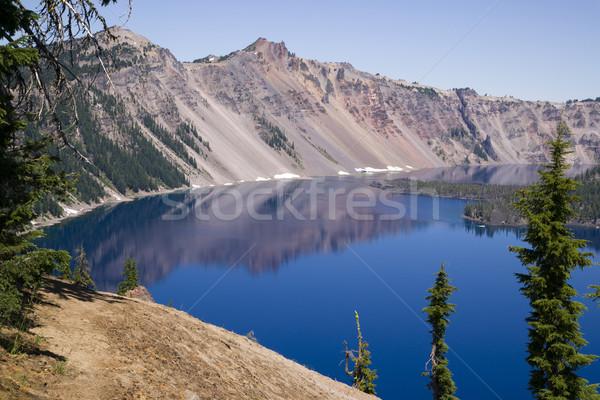 кратер озеро парка Орегон США воды Сток-фото © cboswell