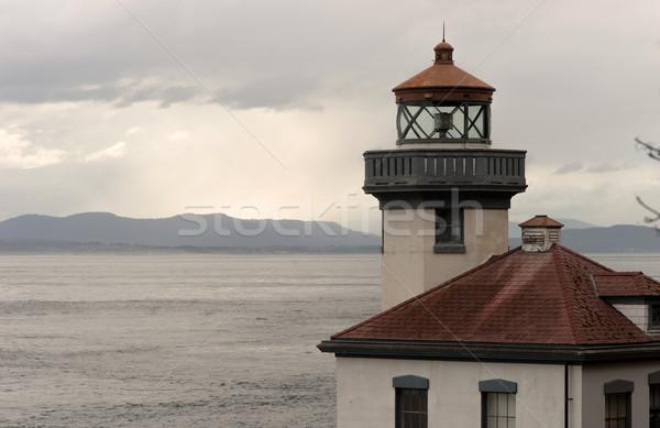 石灰 灯台 ビーコン カナダ することができます ストックフォト © cboswell