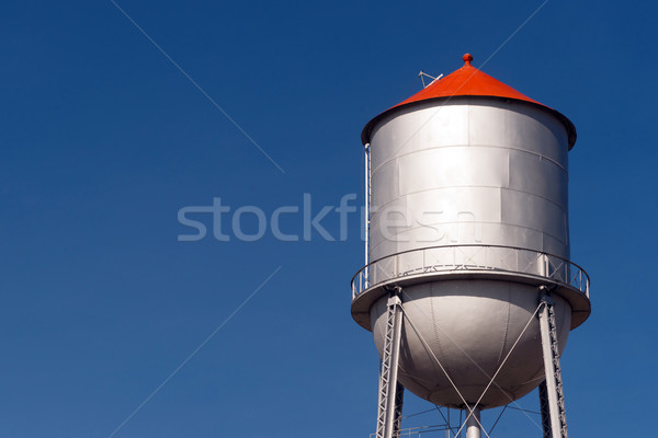 Small Town Water Tower Utilitiy Infrastructure Storage Reservoir Stock photo © cboswell