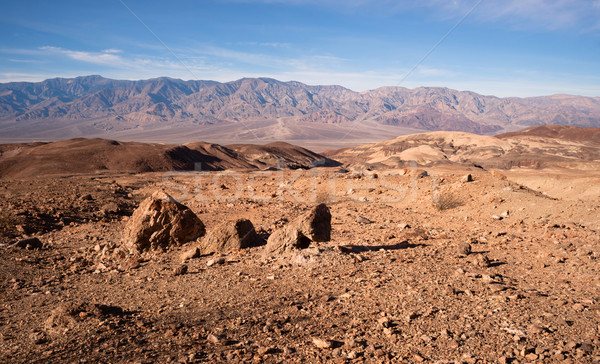 Punkt doskonały dzień śmierci dolinie parku Zdjęcia stock © cboswell