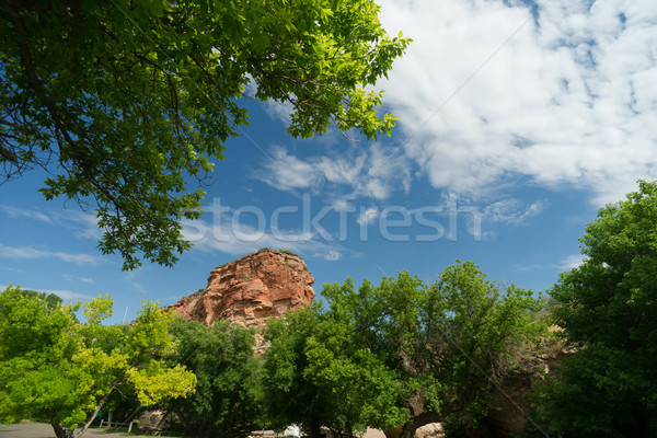 Ayres Natural Bridge Park Converse County Wyoming LaPrele Creek Stock photo © cboswell