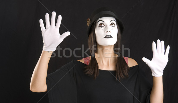 Mime Looks Up Stock photo © cboswell