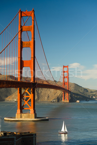 Golden Gate Bridge Fort Point San Francisco Bay California Stock photo © cboswell