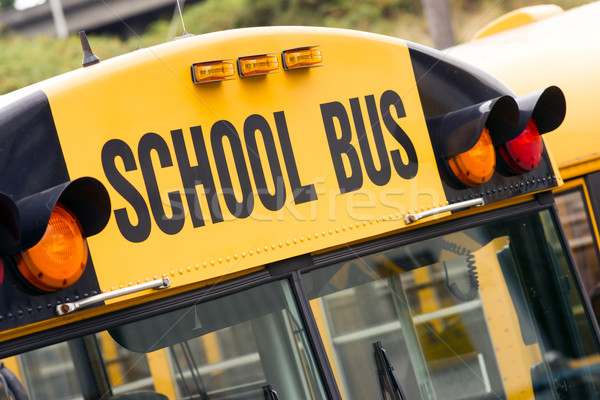 Stock photo: School Bus Child Carrier Elementary Education Transportation Fla