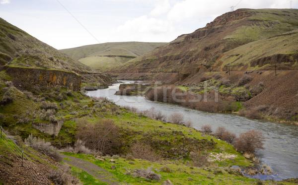 Deep Gorge Deschutes River Wild Scenic Corridor Oregon  Stock photo © cboswell