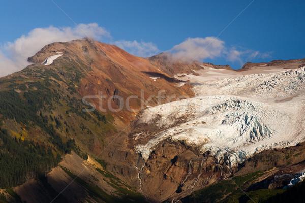 ледник водопада альпийский Бейкер Сток-фото © cboswell