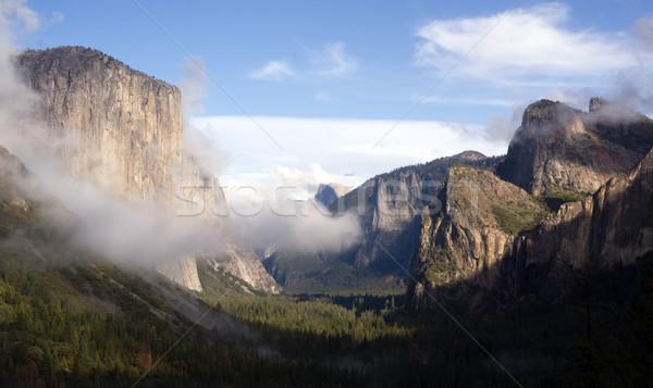 Yosemite dolinie kopuła parku wodospad Zdjęcia stock © cboswell