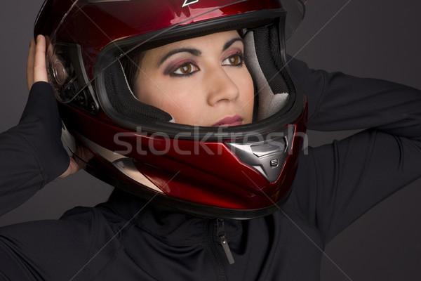 Female Full Face Stock photo © cboswell