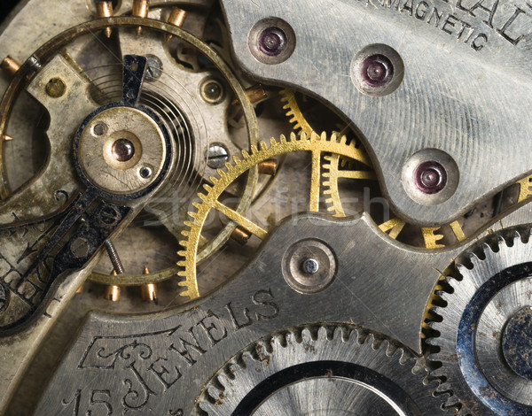 金 銀 精度 アンティーク ヴィンテージ 懐中時計 ストックフォト © cboswell