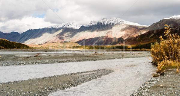 Rio Alasca alcance grande água Foto stock © cboswell