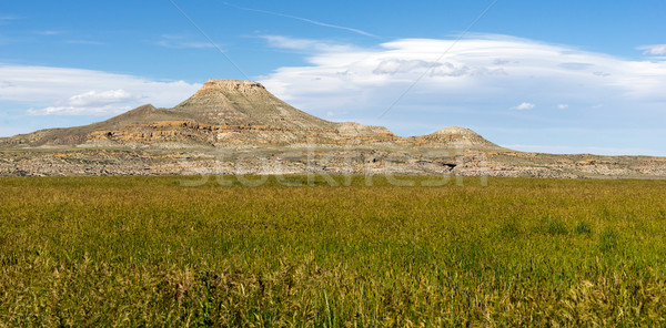Upper Table High Butte Wind River Reservation Wyoming Western US Stock photo © cboswell