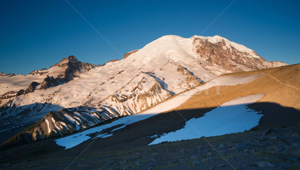 Mt Rainier Ring of Fire Cascade Range Mountain View Stock photo © cboswell