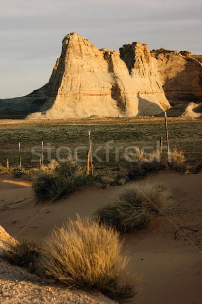 砂岩 岩石層 砂漠 湖 ユタ州 アリゾナ州 ストックフォト © cboswell
