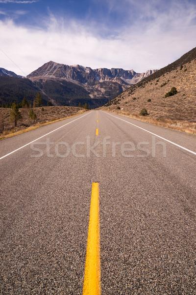 道路 入り口 合格 道路 ヨセミテ カリフォルニア ストックフォト © cboswell