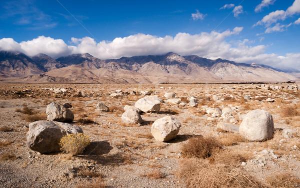 Vadi Nevada Kaliforniya manzara Stok fotoğraf © cboswell
