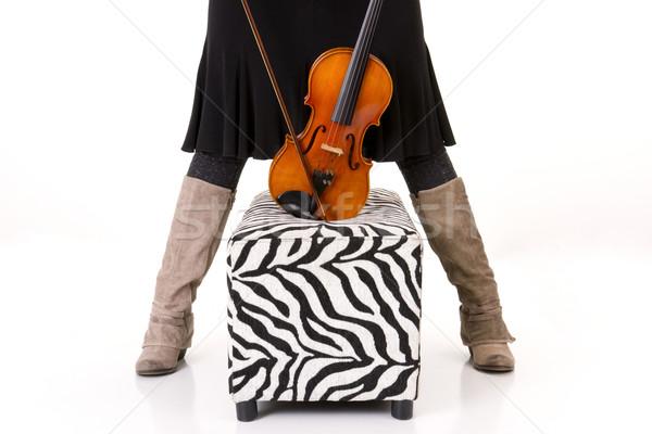 Resting Instrument Stock photo © cboswell