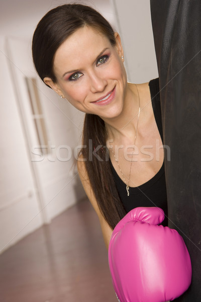 Boxer in Pink Stock photo © cboswell