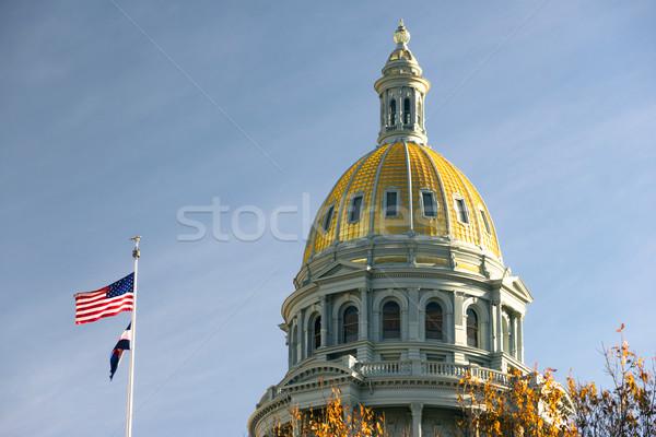 Denver Colorado Capital Building Government Dome Architecture Stock photo © cboswell