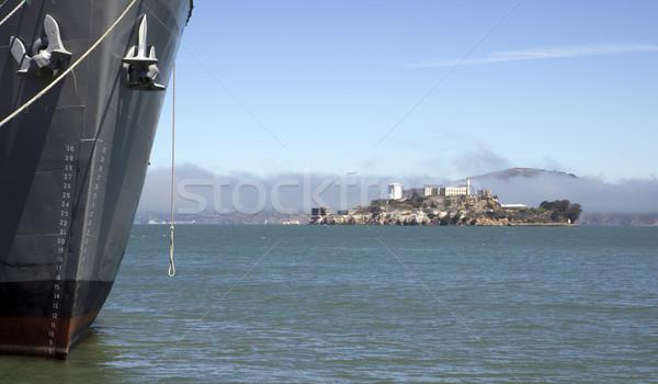 Alcatraz Island Stock photo © cboswell