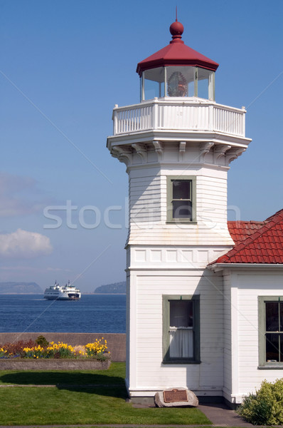 West Coast Lighthouse & Ferry Stock photo © cboswell