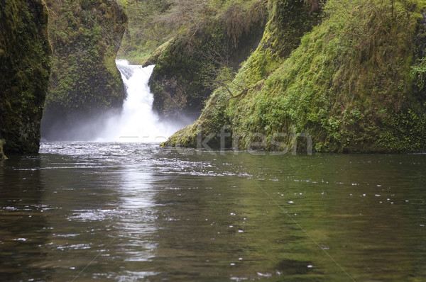 Punch Bowl Falls Waterfall Columbia River Valley Oregon Northwes Stock photo © cboswell