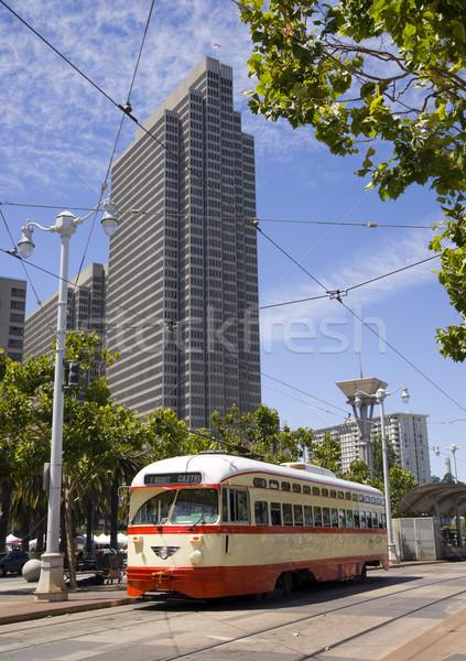 Trolley CAR Stock photo © cboswell