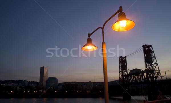Portland Waterfront Stock photo © cboswell