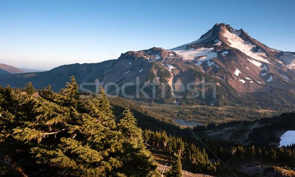 Mt. Jefferson Park Oregon Cascade Range Mountian Hiking Trail Stock photo © cboswell