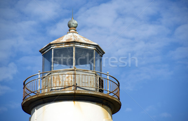 Lighthouse Top Stock photo © cboswell