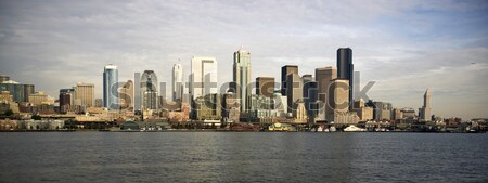 Stockfoto: Seattle · centrum · dok · pont