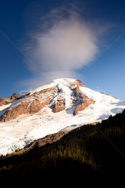North Cascades Mt. Baker Heliotrope Ridge Glacier Peaks Stock photo © cboswell