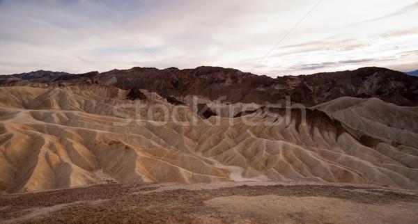 Dramatic Light Badlands Amargosa Mountain Range Death Valley Zab Stock photo © cboswell