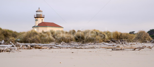 Stock photo: Bullards Beach Coquille River Lighthouse Bandon Oregon Pacific C