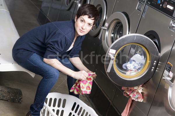 Laundromat Stock photo © cboswell